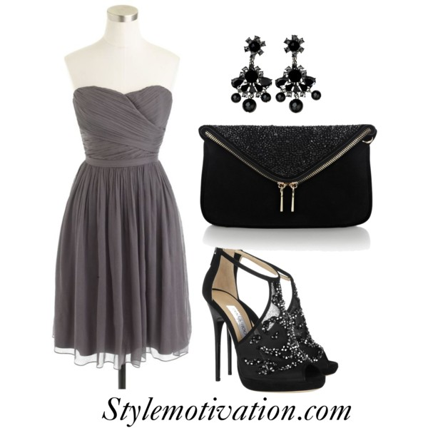 15 Gorgeous Fashion Combinations for New Year's Eve Party (1)