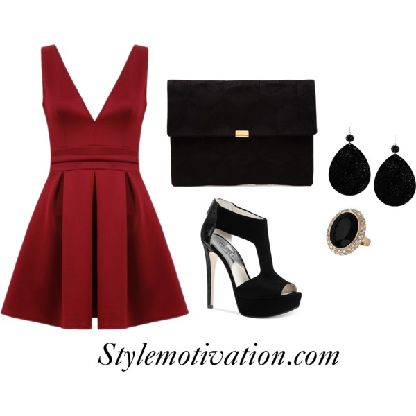 15 Gorgeous Fashion Combinations for New Year's Eve Party (13)