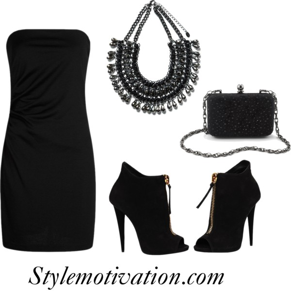 15 Gorgeous Fashion Combinations for New Year's Eve Party (15)