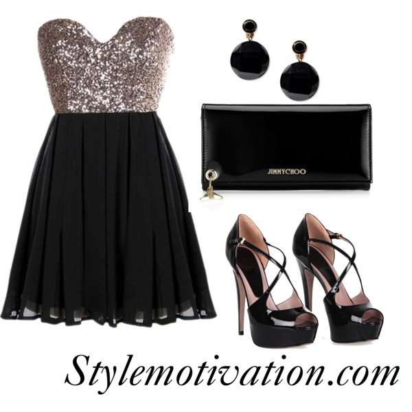 15 Gorgeous Fashion Combinations for New Year's Eve Party (5)
