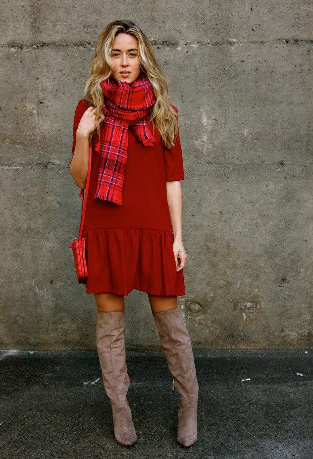 15 Stylish Winter Outfit Ideas with Boots (11)