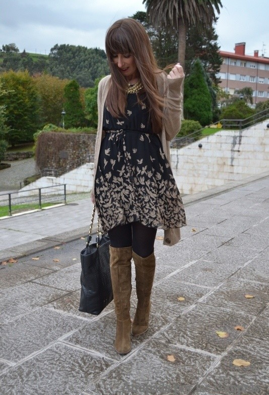 15 Stylish Winter Outfit Ideas with Boots (12)