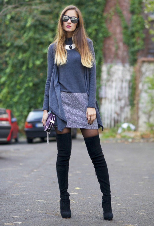 15 Stylish Winter Outfit Ideas with Boots (2)