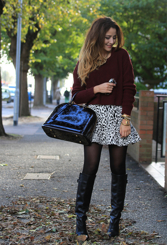 15 Stylish Winter Outfit Ideas with Boots (5)