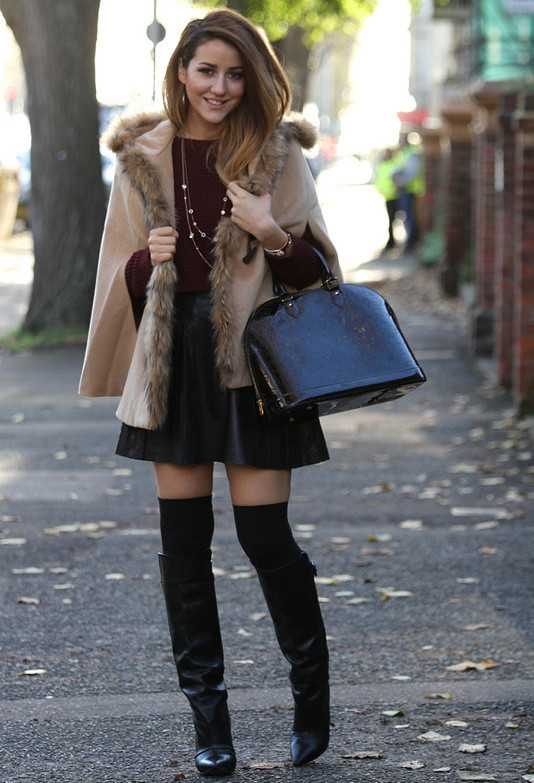 15 Stylish Winter Outfit Ideas with Boots (7)