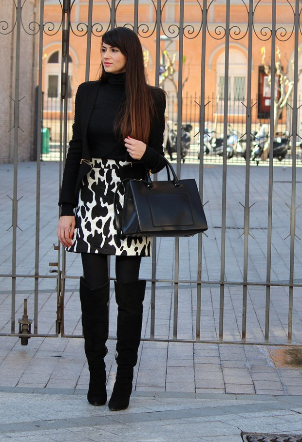 15 Stylish Winter Outfit Ideas with Boots (8)