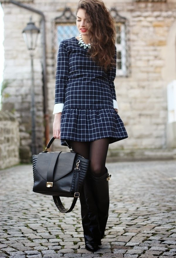 15 Stylish Winter Outfit Ideas with Boots (9)