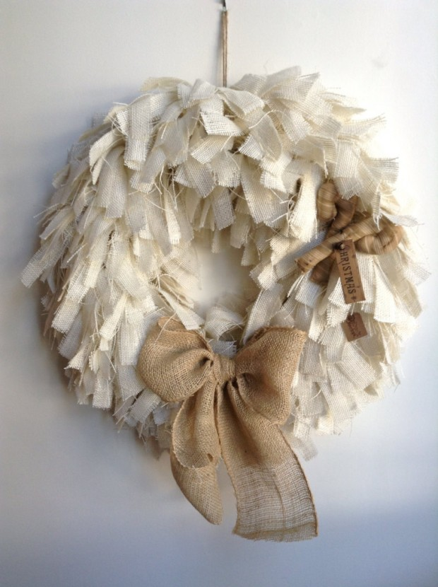 16 Beautiful Handmade Christmas Wreath Designs (1)