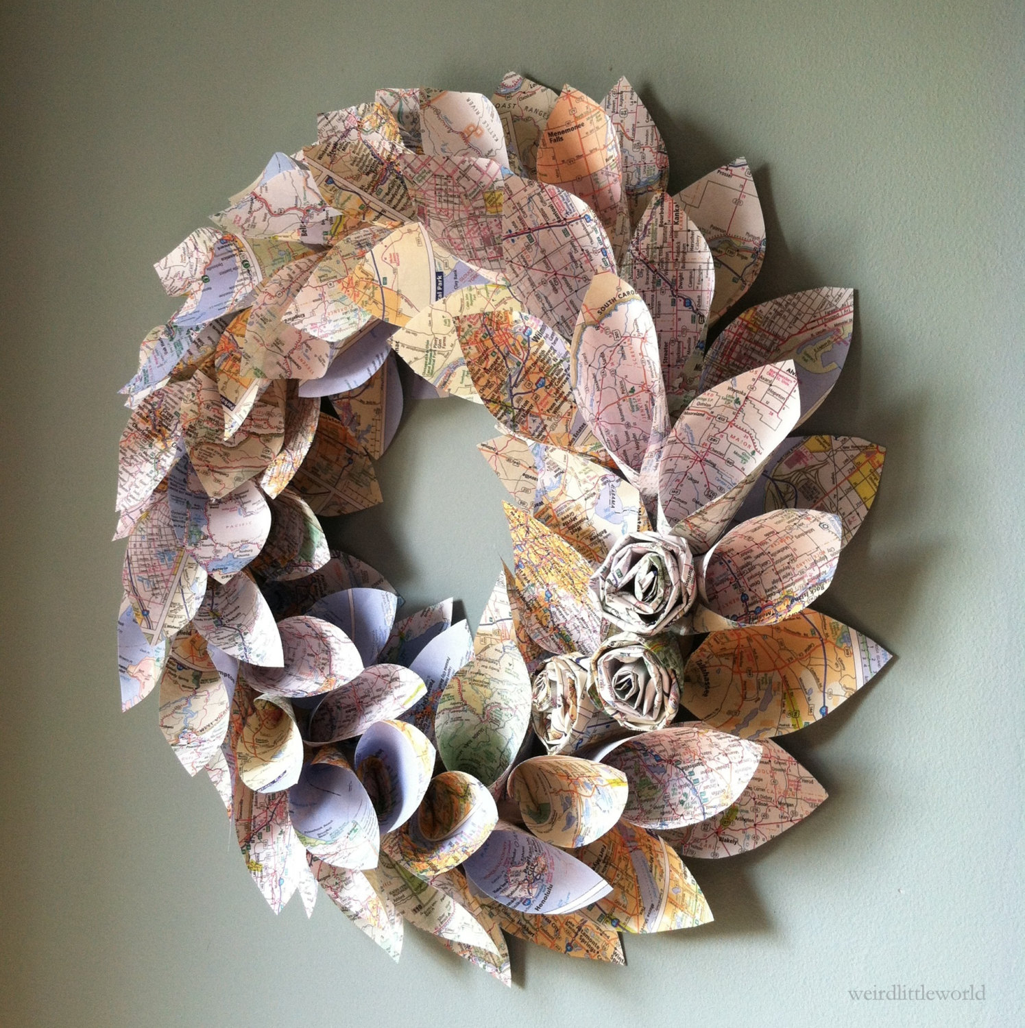 16 Beautiful Handmade Christmas Wreath Designs Style