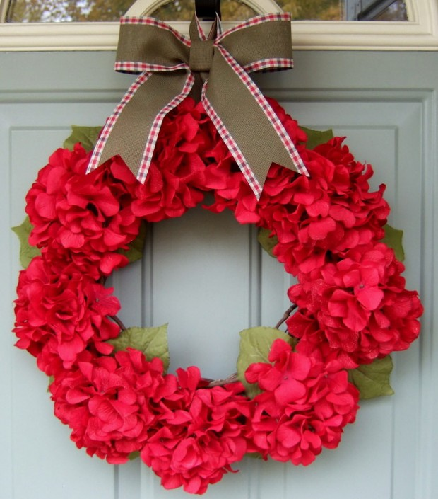 16 Beautiful Handmade Christmas Wreath Designs (13)