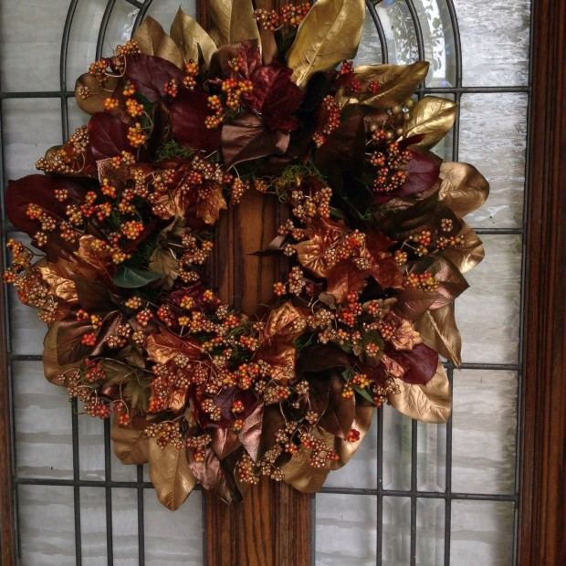 16 Beautiful Handmade Christmas Wreath Designs (16)