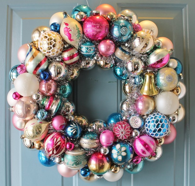 16 Beautiful Handmade Christmas Wreath Designs (3)