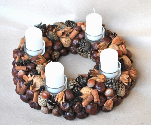 16 Beautiful Handmade Christmas Wreath Designs (8)