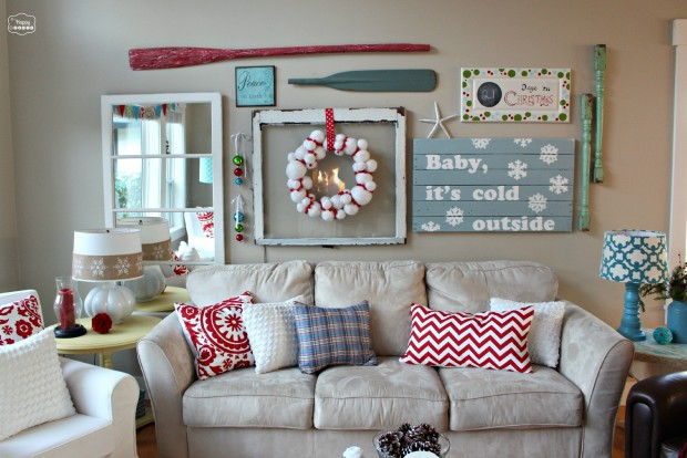 Delightful 16 Creative Ideas For Christmas Home Decor