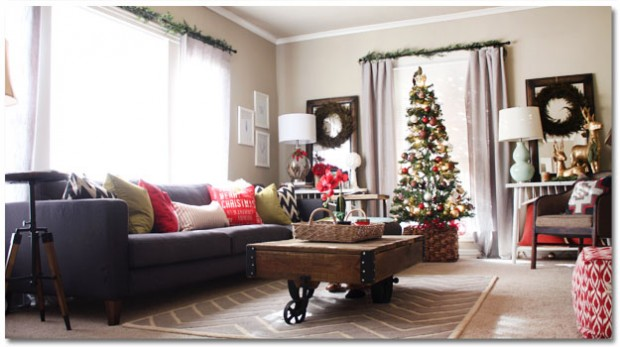 16 creative ideas for christmas home decor - Christmas Home Decor