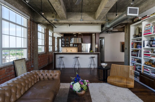 Industrial Interior Design Ideas Industrial Look Wohnzimmer