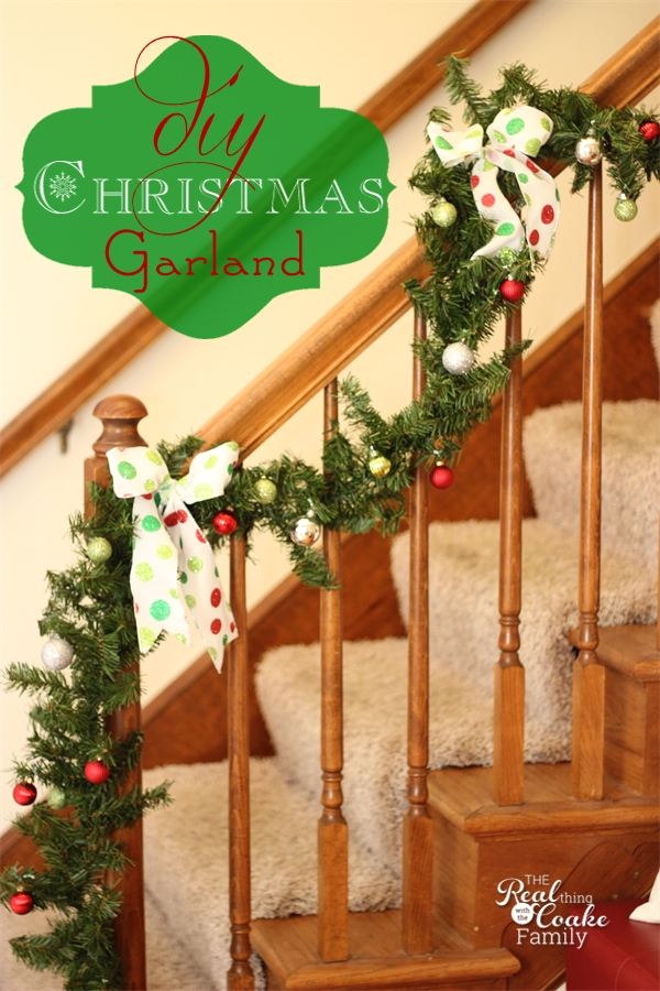 17 Amazing Ideas for DIY Christmas Garland (1)