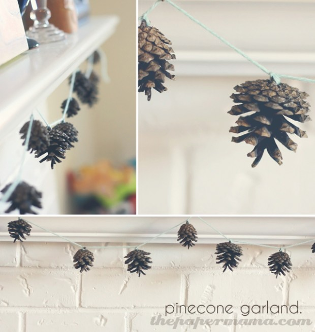 17 Amazing Ideas for DIY Christmas Garland (13)