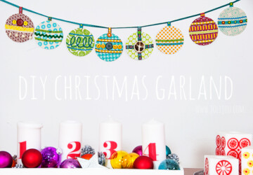 17 Amazing Ideas for DIY Christmas Garland - Diy Christmas garland, diy christmas decor, Diy Christmas