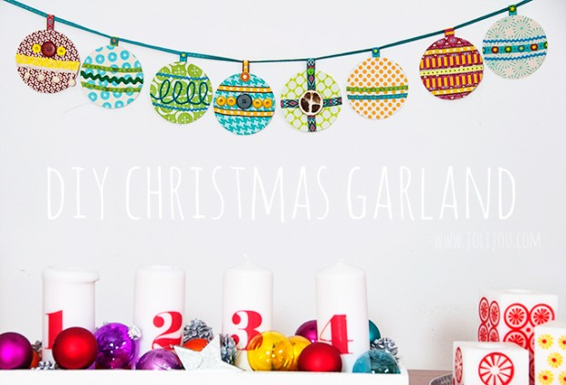 17 Amazing Ideas for DIY Christmas Garland (3)