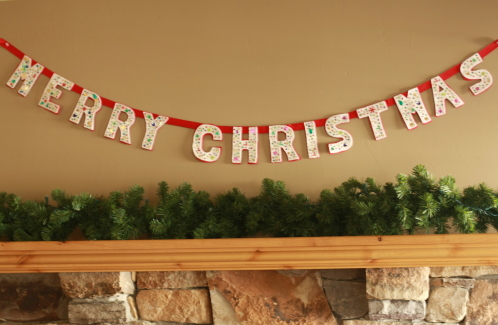 17 Amazing Ideas for DIY Christmas Garland (8)