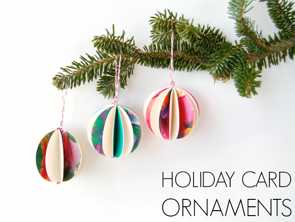 17 Cute and Easy DIY Christmas Ornaments