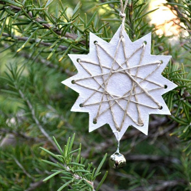 17 Cute and Easy DIY Christmas Ornaments (10)