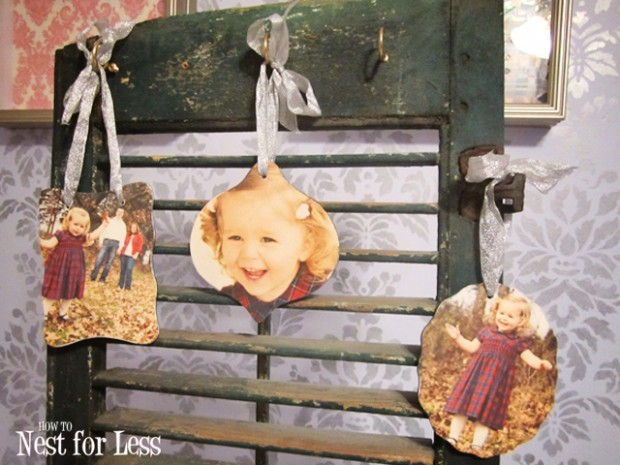 18 Awesome DIY Christmas Photo Ornaments (15)