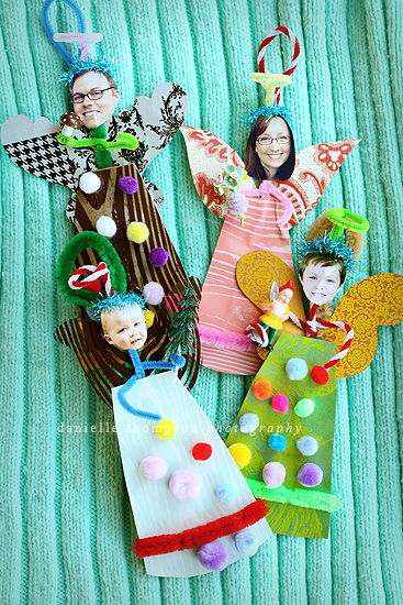18 Awesome DIY Christmas Photo Ornaments (3)