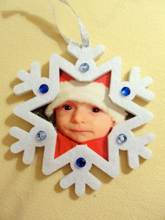 18 Awesome DIY Christmas Photo Ornaments