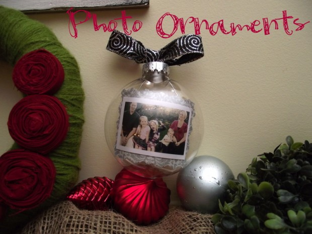18 Awesome DIY Christmas Photo Ornaments (9)