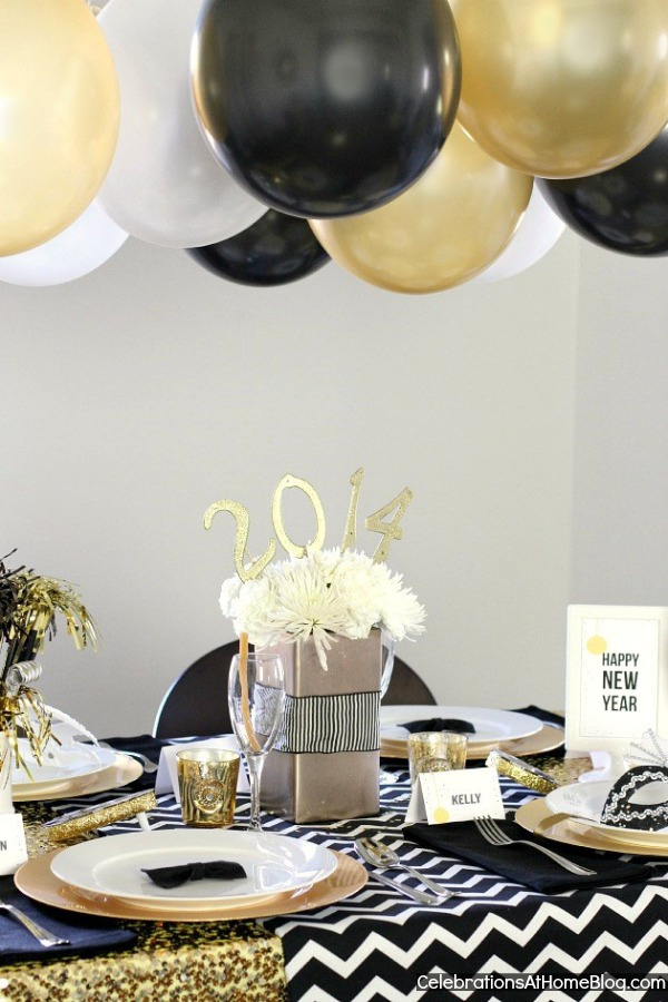 18 Awesome Ideas For New Yearu0027s Eve Party Decorations