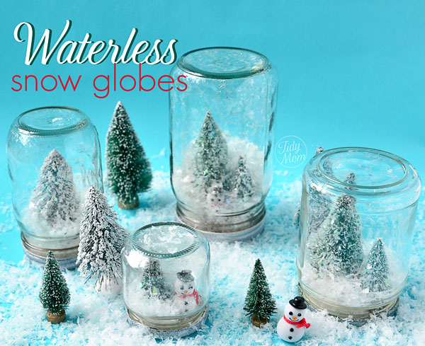 18 Cute and Creative DIY Snow Globe Ideas  (1)