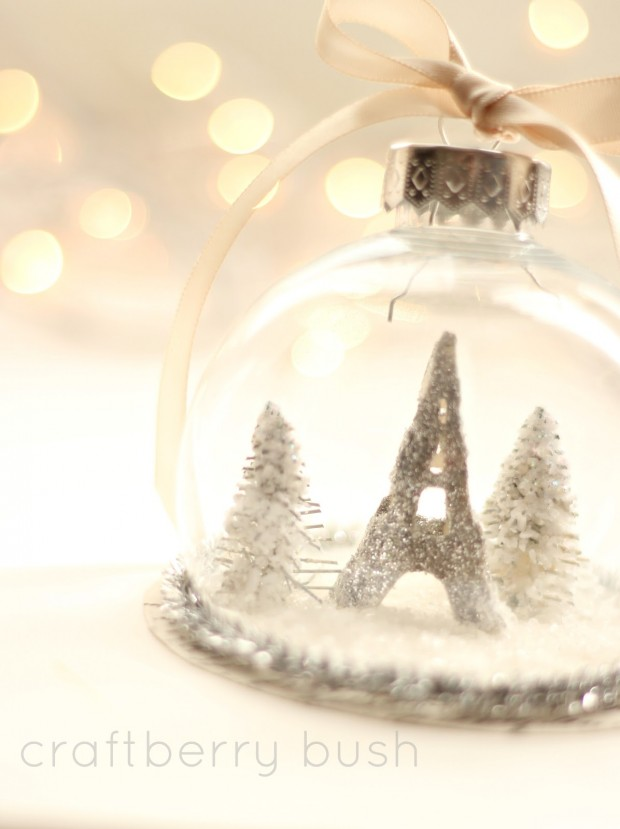 18 Cute and Creative DIY Snow Globe Ideas  (5)