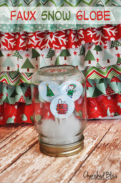 18 Cute and Creative DIY Snow Globe Ideas  (6)