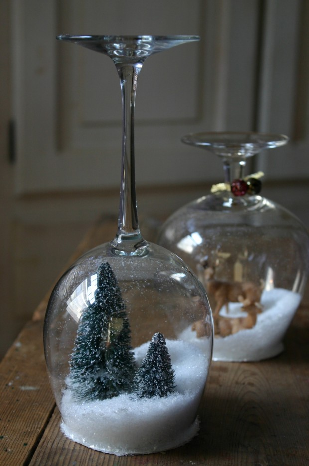 18 Cute and Creative DIY Snow Globe Ideas  (7)