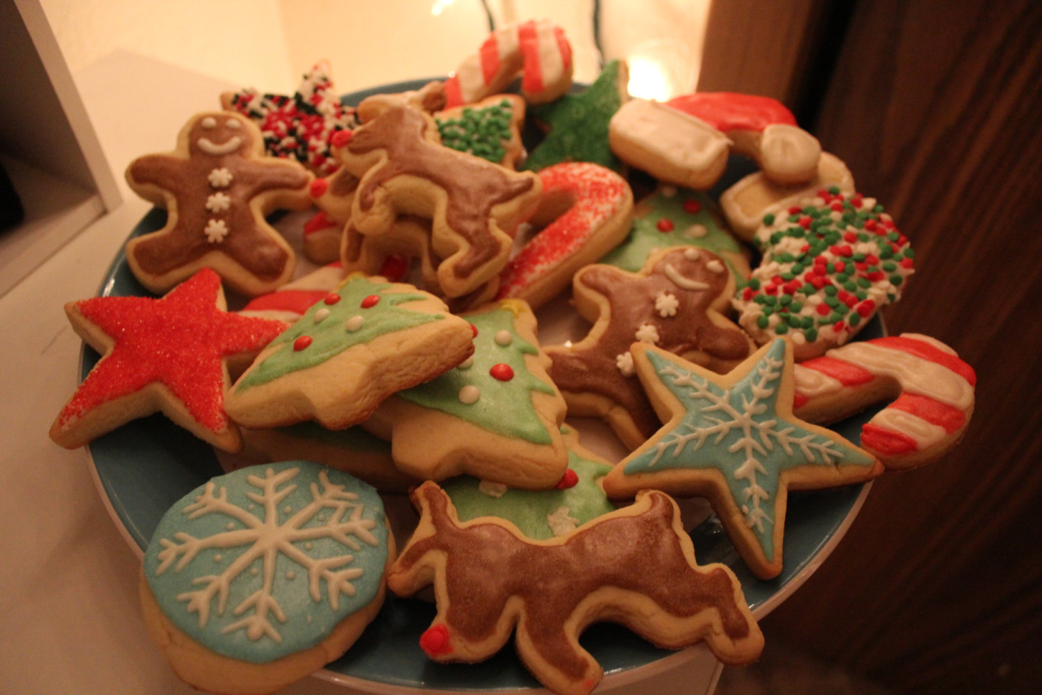 decorated christmas sugar cookies - Decorated Christmas Sugar Cookies