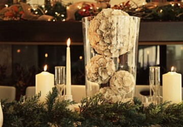 18 Gorgeous Christmas Wedding Decoration Ideas - winter wedding, wedding decor, Christmas wedding, Christmas