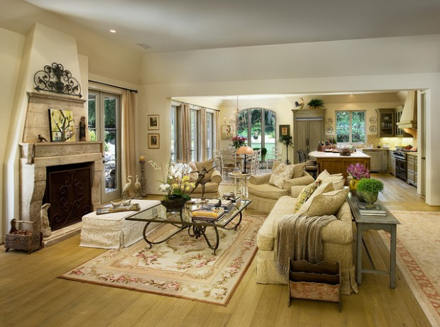 18 Gorgeous Living Room Design Ideas in Mediterranean Style (12)