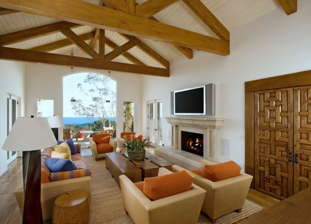 18 Gorgeous Living Room Design Ideas in Mediterranean Style (3)