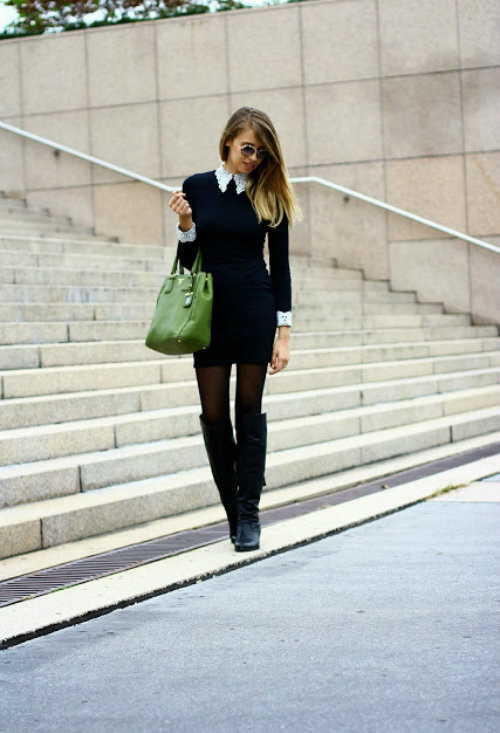 18 Gorgeous Outfit Ideas for Cold Days (10)