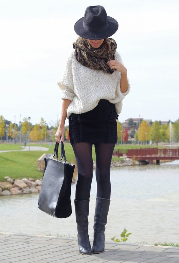 18 Gorgeous Outfit Ideas for Cold Days (14)