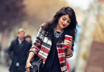 18 Gorgeous Outfit Ideas for Cold Days - winter outfits, Outfit ideas, cold weather, cold days