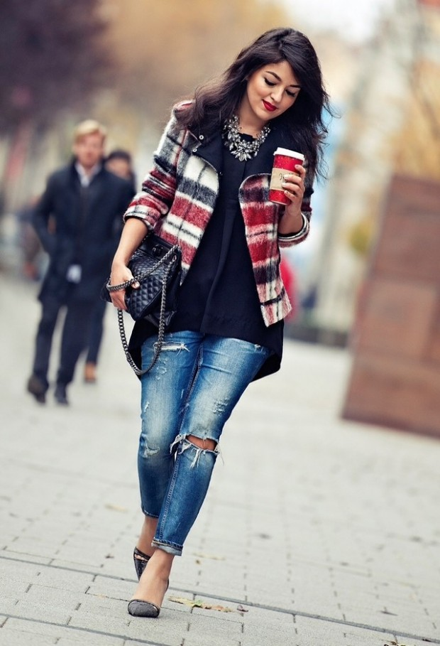 18 Gorgeous Outfit Ideas for Cold Days (15)