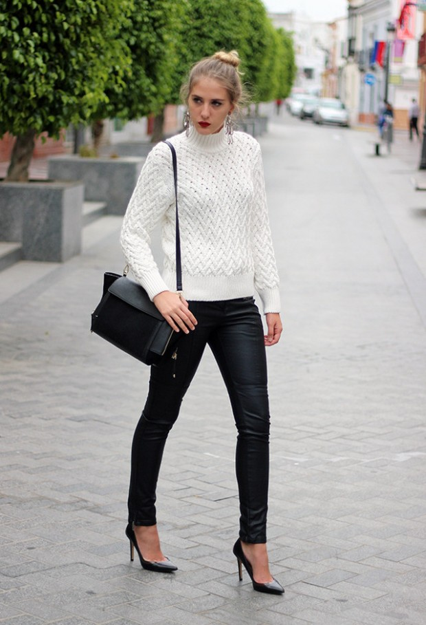 18 Gorgeous Outfit Ideas for Cold Days (17)