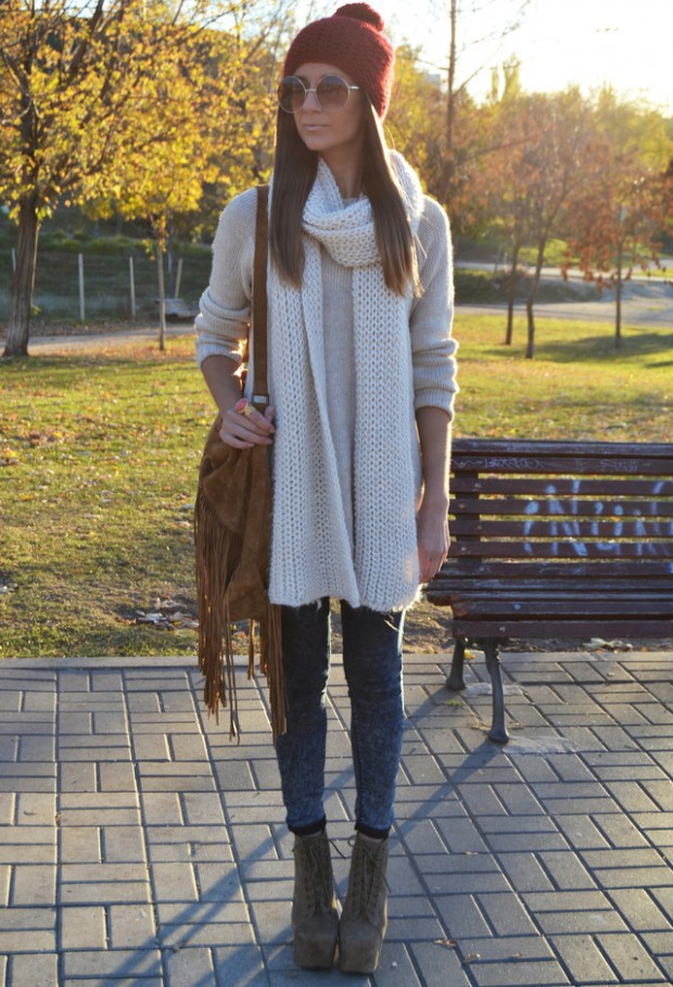 18 Gorgeous Outfit Ideas for Cold Days (2)
