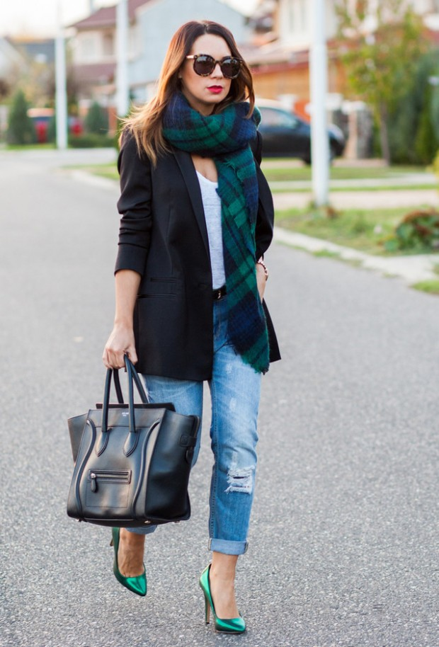 18 Gorgeous Outfit Ideas for Cold Days (4)