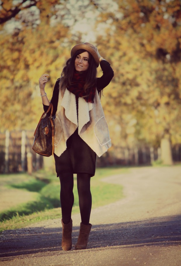 18 Gorgeous Outfit Ideas for Cold Days (8)
