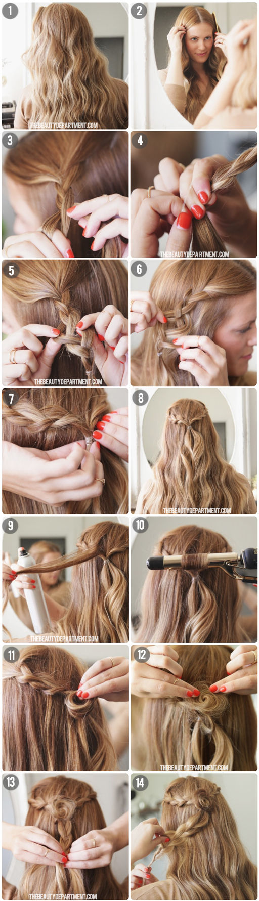18 Great Hairstyle Ideas and Tutorials for Perfect Holiday Look (11)