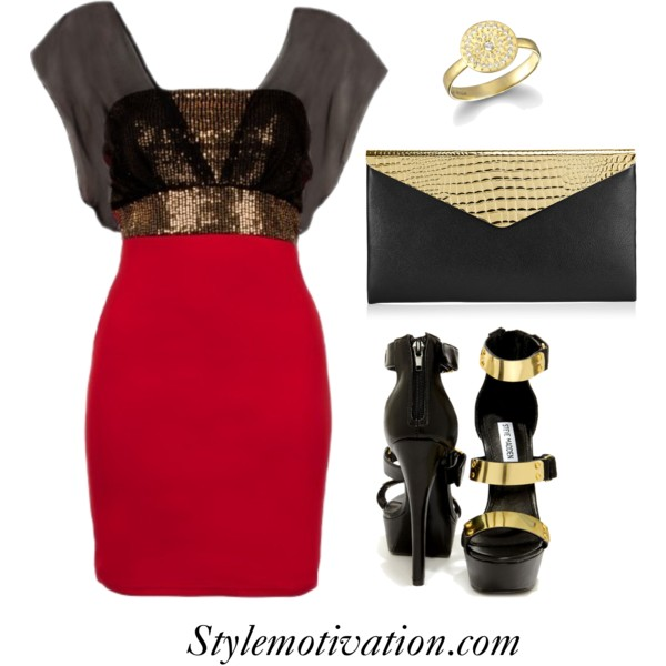18 Stylish Party Outfit Combinations (19)